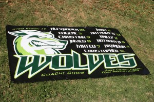 Youth Sports Banners and Pennants